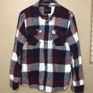 Coastal button up size medium